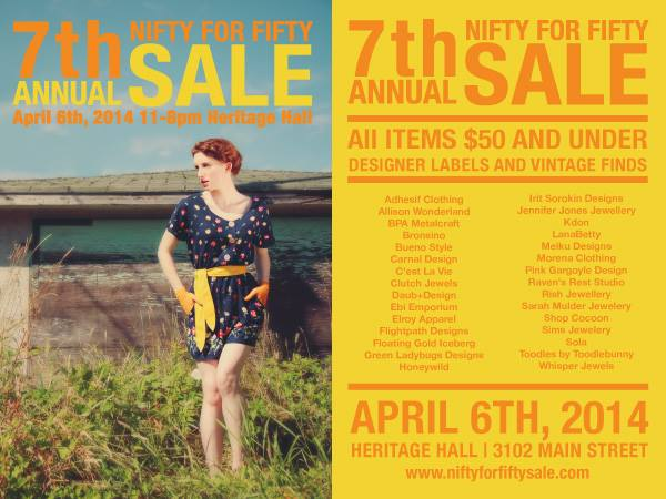 7th Annual Nifty for Fifty Sale