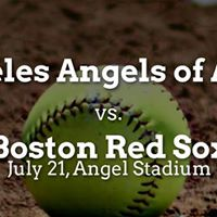 Los Angeles Angels of Anaheim vs. Boston Red Sox