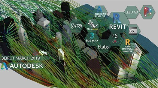 Revit3dsmaxRobotP6RhinoTeklaEtabs courses starting 6 March