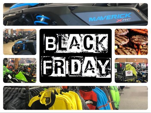 Black Friday All Day Extravaganza at Planet Powersports