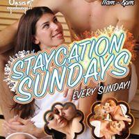 11am-8pm Staycation Sunday