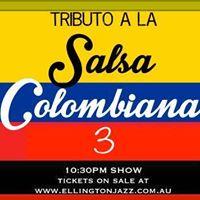 Fri 19th Jan Tributo a La Salsa Colombiana III at Ellington