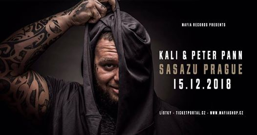 Kali & Peter Pann live - Sasazu Prague 15.12.