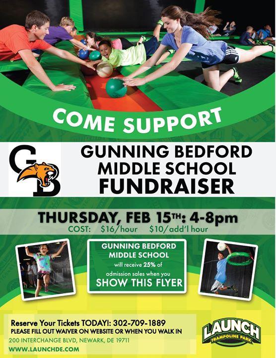 Fundraiser Gunning Bedford Middle School