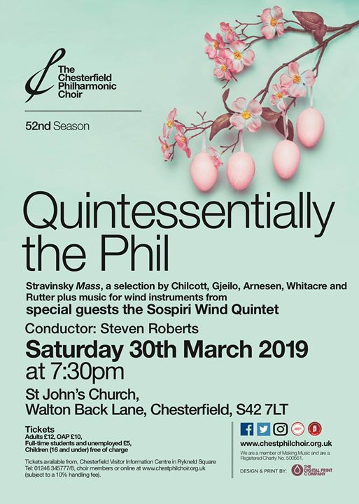 Quintessentially the Phil - the Phils Spring Concert