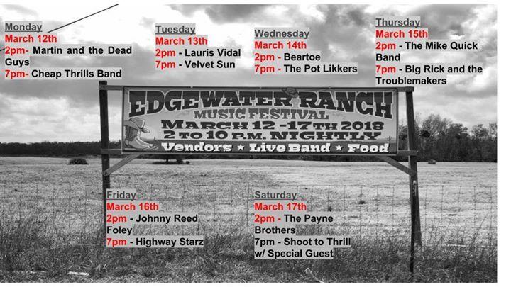 Edgewater Ranch Music Festival