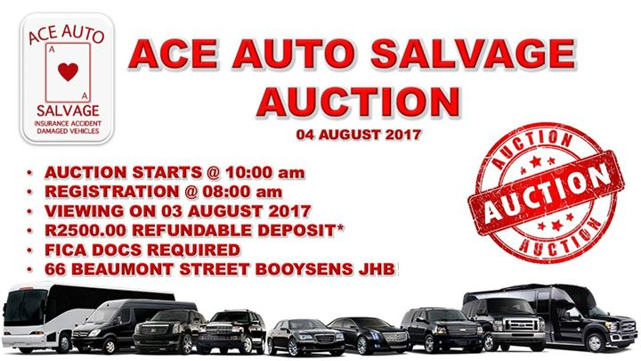 Ace Auto Salvage >> Ace Auto Salvage Auction Johannesburg