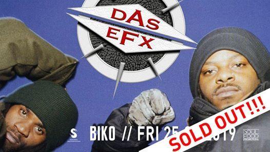 Sold Out Das EFX live  BIKO Milano  25.01.2019