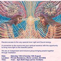 Light and Sound Meditation Weekend