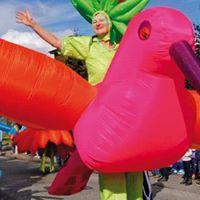 Lfte  Das Wstenschiff hebt ab Kindertheaterfestival