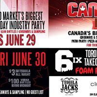 Tequila Jacks Presents  Canada Day Weekend