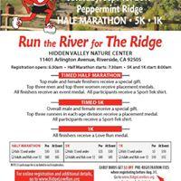 Run the River for The Ridge