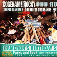Cammy Yammys Burfday Show Feat. CodeName Rocky Odd Robot