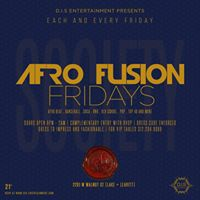 Everyone Loves Afrofusion Fridays