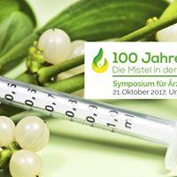 Symposium 100 Jahre Zukunft. Die Mistel in der Krebstherapie
