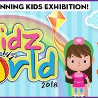 Kidzworld 2018 World Trade Centre on 5-6 May 2018