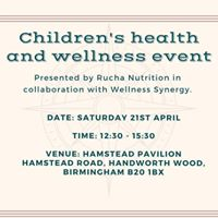 Childrens health and wellness event