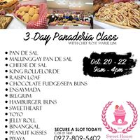 3-Day Panaderia Class