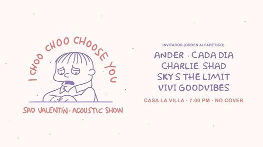 Sad Valentn - Show Acstico