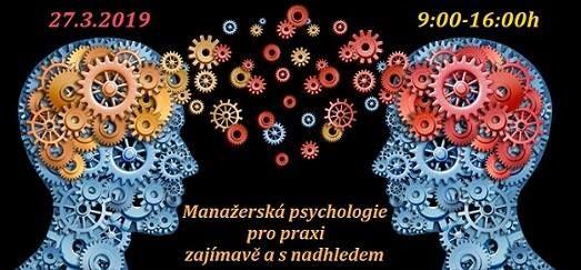 Manaersk psychologie pro praxi zajmav a s nadhledem