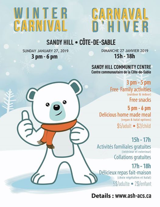 Carnaval dhiver Sandy Hill Winter Carnival