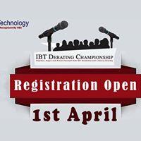 IBT Debating Championship