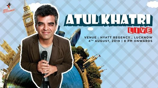 Atul Khatri Live in Lucknow
