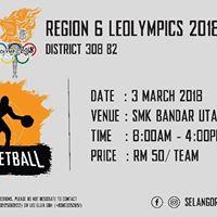 District 308 B2 Region 6 Leolympics 2018 - Basketball