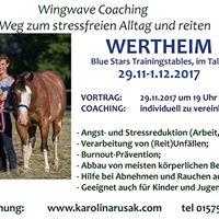 Mental Coaching - Vortrag und Einzelstizungen in Wertheim