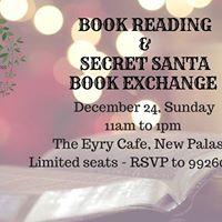 Book Reading &amp Secret Santa Book Exchange