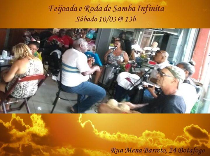 5743ef39879 Roda de Samba Infinita e Feijoada em Botafogo at MenaBarril Gourmet ...