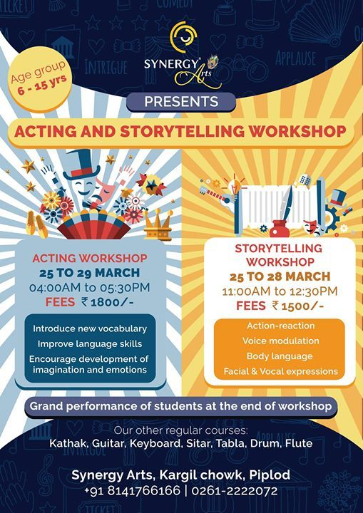 Acting and Story telling workshop