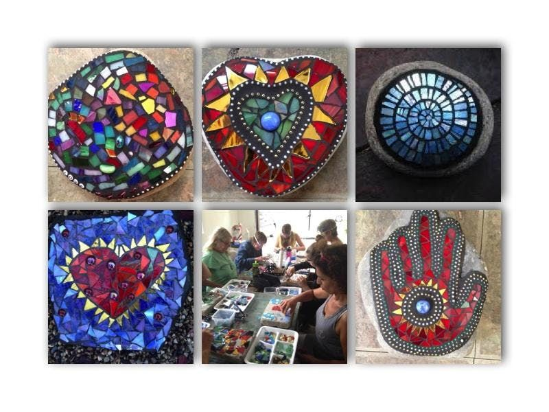 Create a Mosaic Stone of Your Own