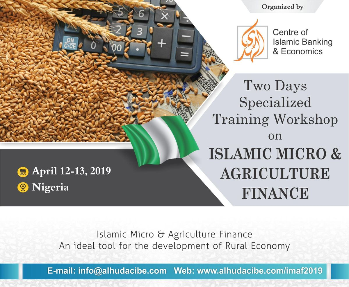 Specialized Training Workshop on Islamic Micro & Agriculture Finance