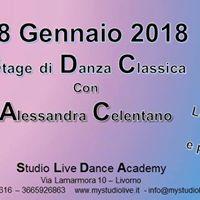 Stage di Danza Classica con Alessandra Celentano