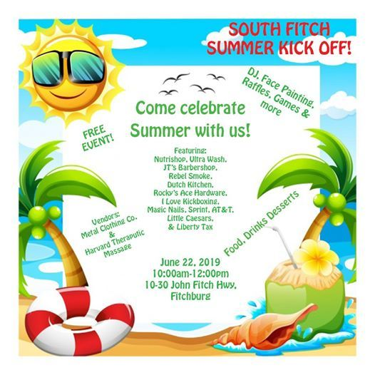 Southfitch Summer Kick Off At 18 John Fitch Hwy Fitchburg