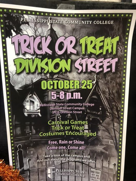 Pellissippi Campus Map.Trick Or Treat Division Street At Pellissippi State Community
