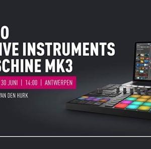 Demo NI Maschine MK3  Antwerpen