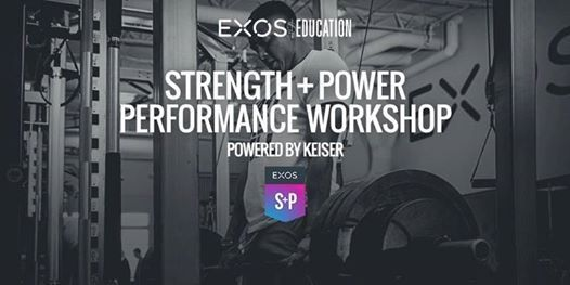 Strength and Power Performance Workshop