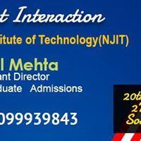 Student Interaction with NJIT official Somil Mehta
