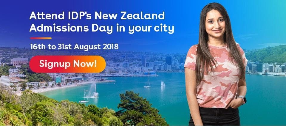 Attend New Zealand Admissions Day in Mumbai (24th August  12pm - 4pm)