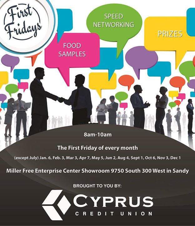 First Fridays - Speed Networking