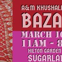 A&ampM Khushali-Spring Bazaar