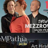 Empathia Jazz Duo plus Art Hirahara at Mezzrow