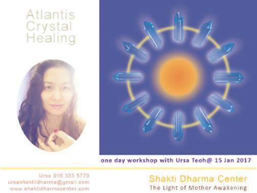 Atlantis Crystal Healing 2017 workshop with Ursa Teoh