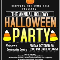 Halloween Party Chippewas of the Thames Annual