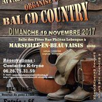 Dimanche 19 Novembre Bal CD avec  Appaloosa Country Dance