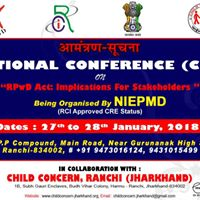 National Conference (CRE) on RPwD Act 2016- Implimentation