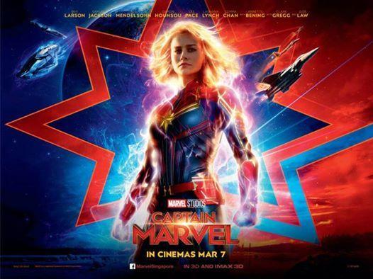 Captain Marvel Midnight Screening