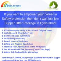 IOSH Managing Safely UK with Supper Offer in Hyderabad